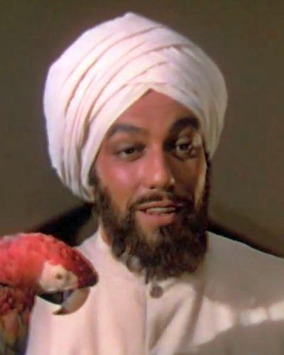 Ram Dass servitor al Lordului Wickham (Cesar Romero)
