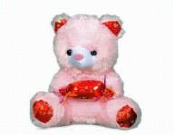 Urs de plus 20 cm, Kota Baby, Roz/Rosu