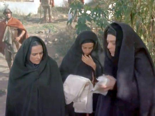 Suntem familia lui Isus din Nazaret care zace aici.